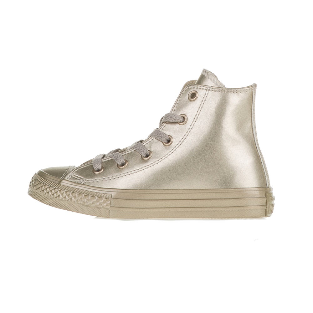 CONVERSE – Κοριτσίστικα μποτάκια Chuck Taylor All Star Hi χρυσά