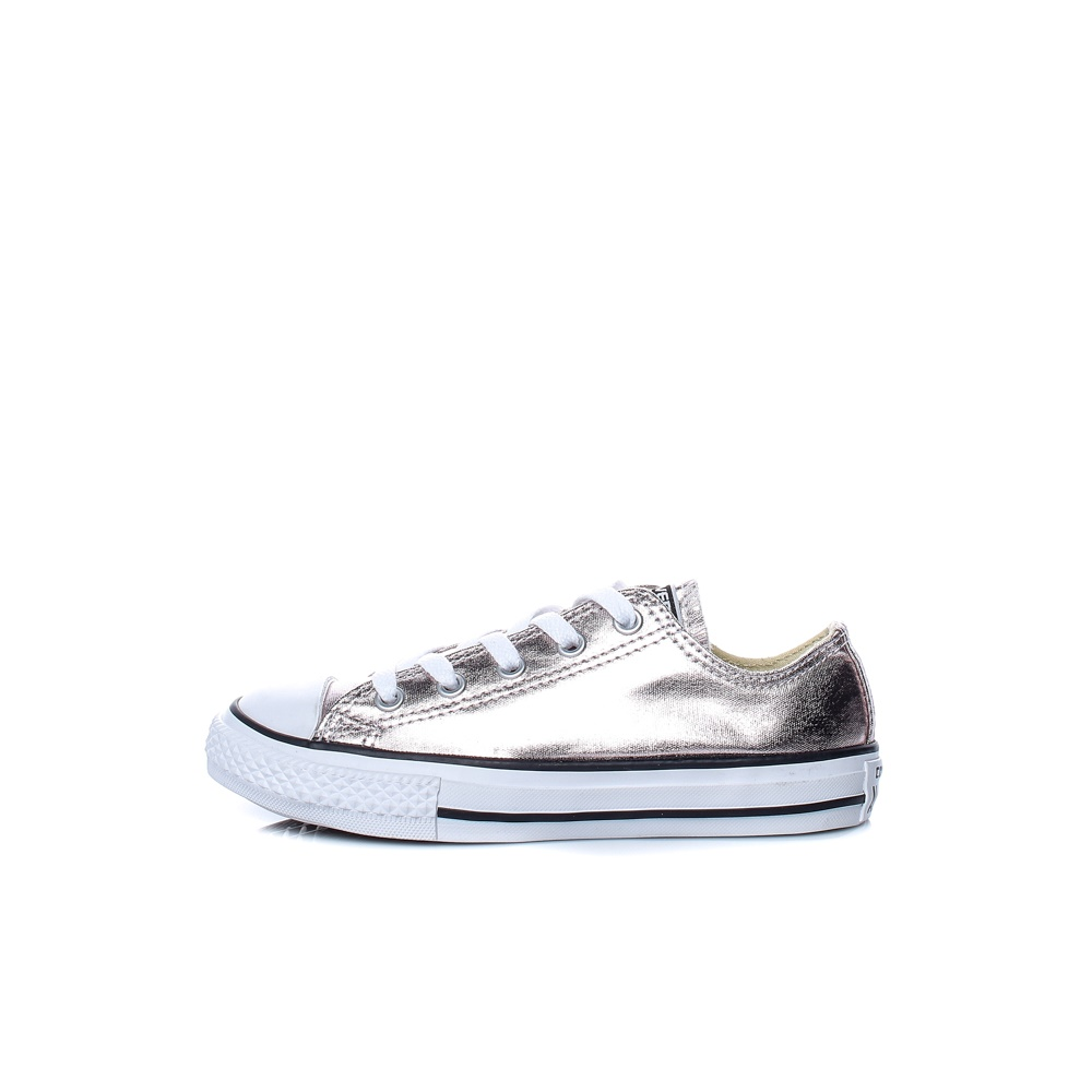9a2662f9f0b CONVERSE - Παιδικά παπούτσια Chuck Taylor All Star Ox ασημί ...