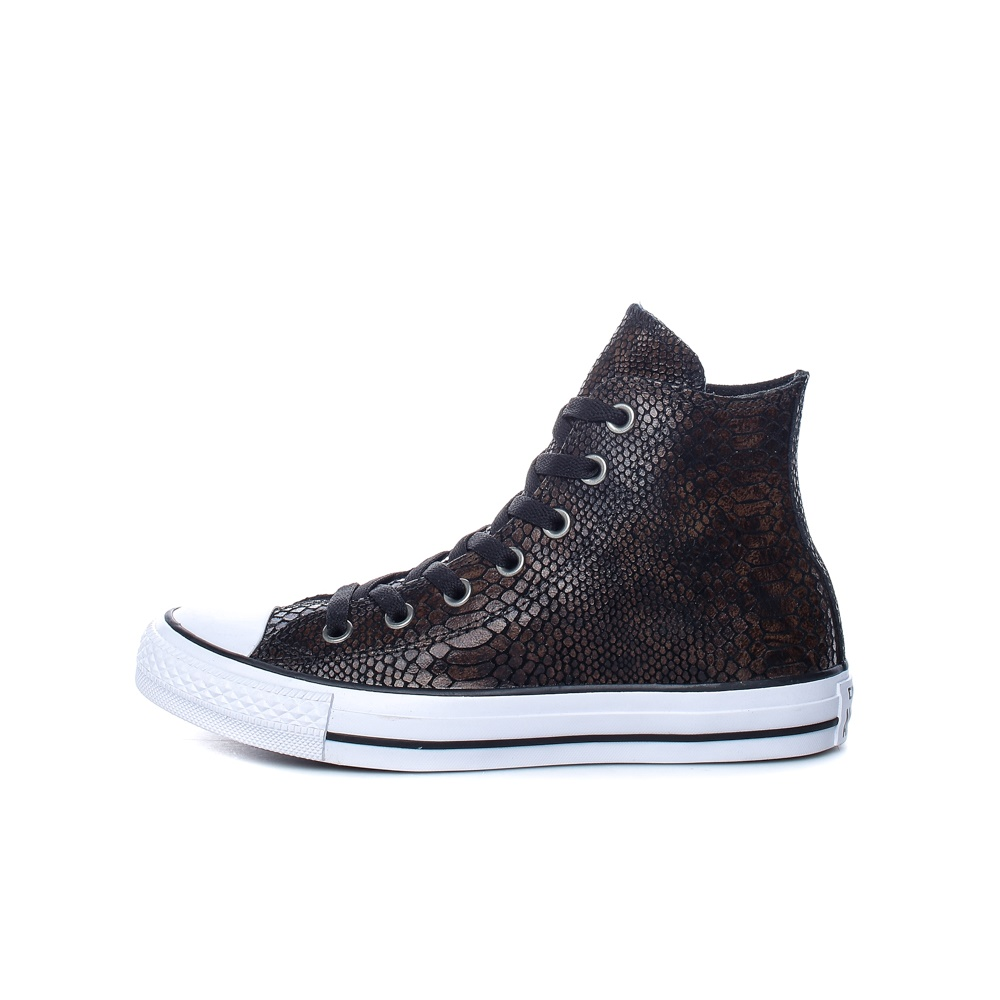 8f0c0617490 Factoryoutlet CONVERSE – Γυναικεία παπούτσια Chuck Taylor All Star Hi καφέ