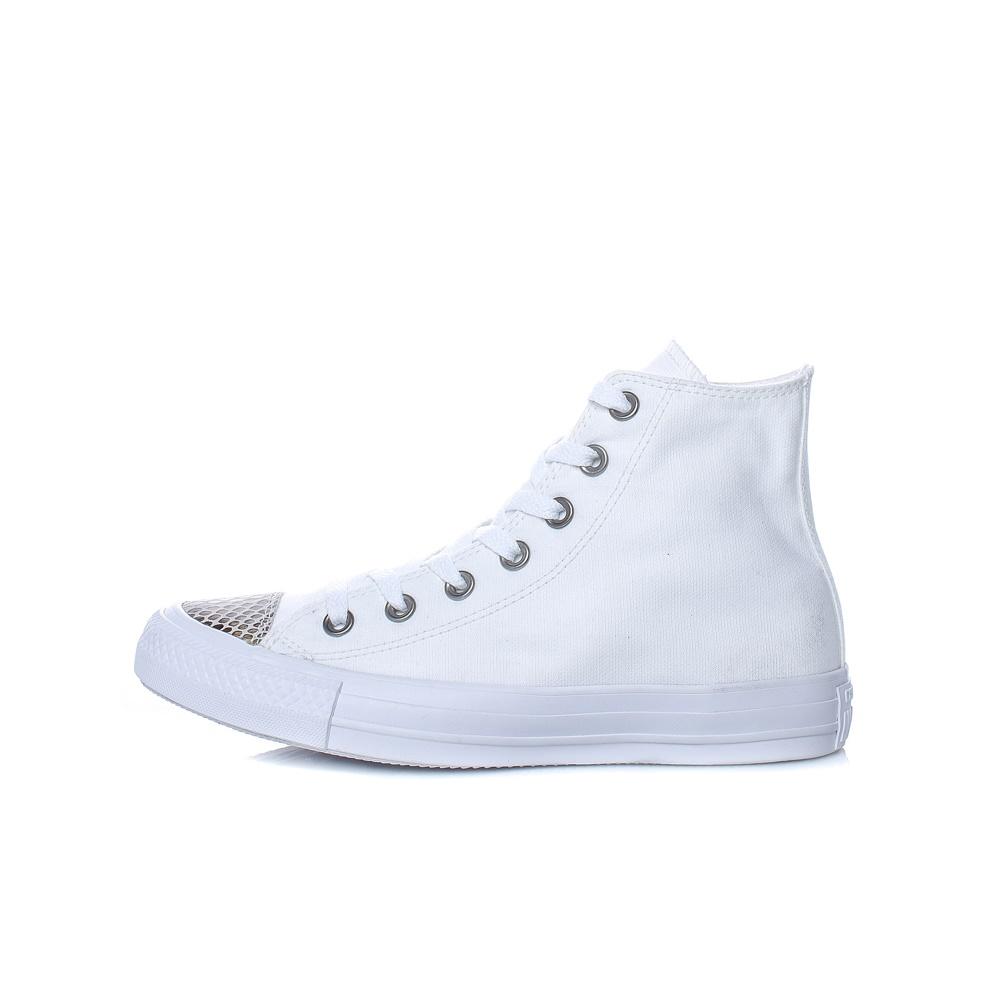 CONVERSE – Γυναικεία παπούτσια Chuck Taylor All Star Hi λευκά