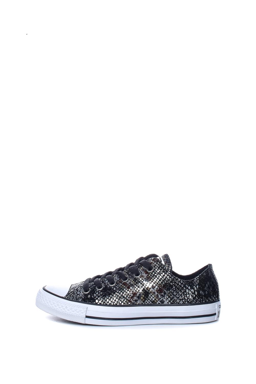 CONVERSE – Γυναικεία παπούτσια Chuck Taylor All Star Ox μαύρα-γκρι