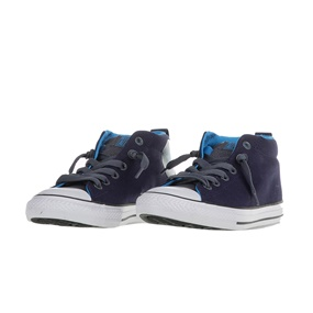 CONVERSE. Παιδικά ημιμποτάκια Chuck Taylor All Star Street μπλε 86f134ba427