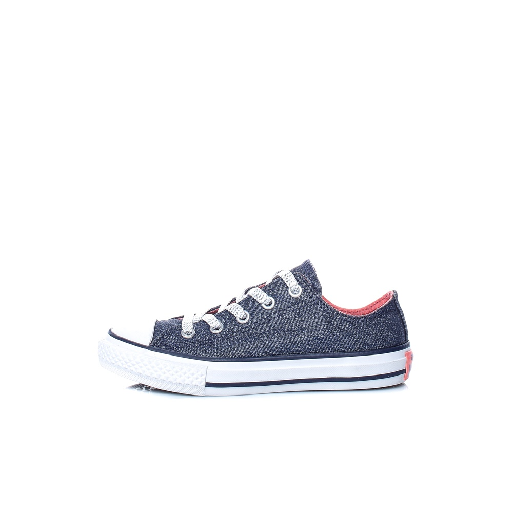 CONVERSE – Παιδικά παπούτσια Chuck Taylor All Star Double μπλε-γκρι