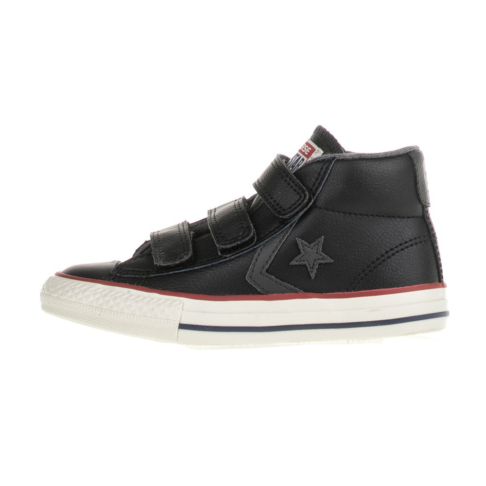 -30% Factory Outlet CONVERSE – Παιδικά μποτάκια CONVERSE Star Player EV V  Mid μαύρα 8bf834acd2d