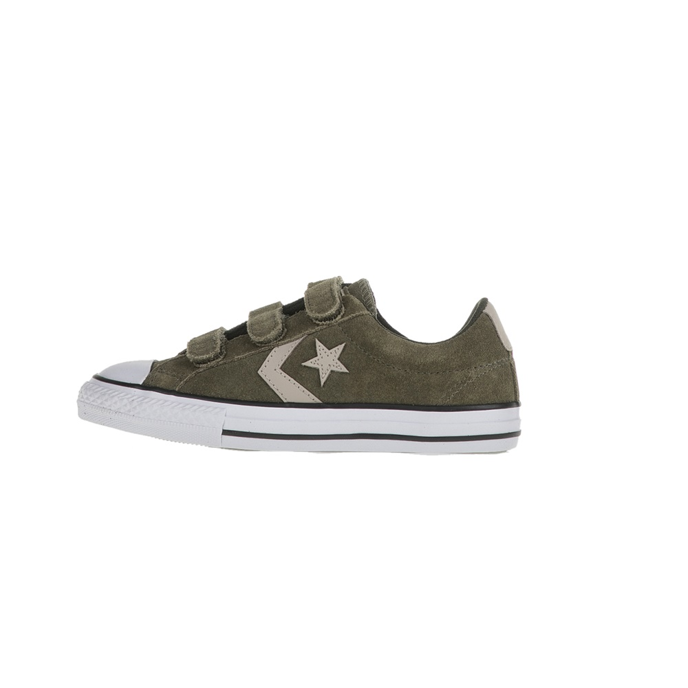CONVERSE – Παιδικά sneakers CONVERSE Star Player EV V Ox χακί d5aa7cf179d