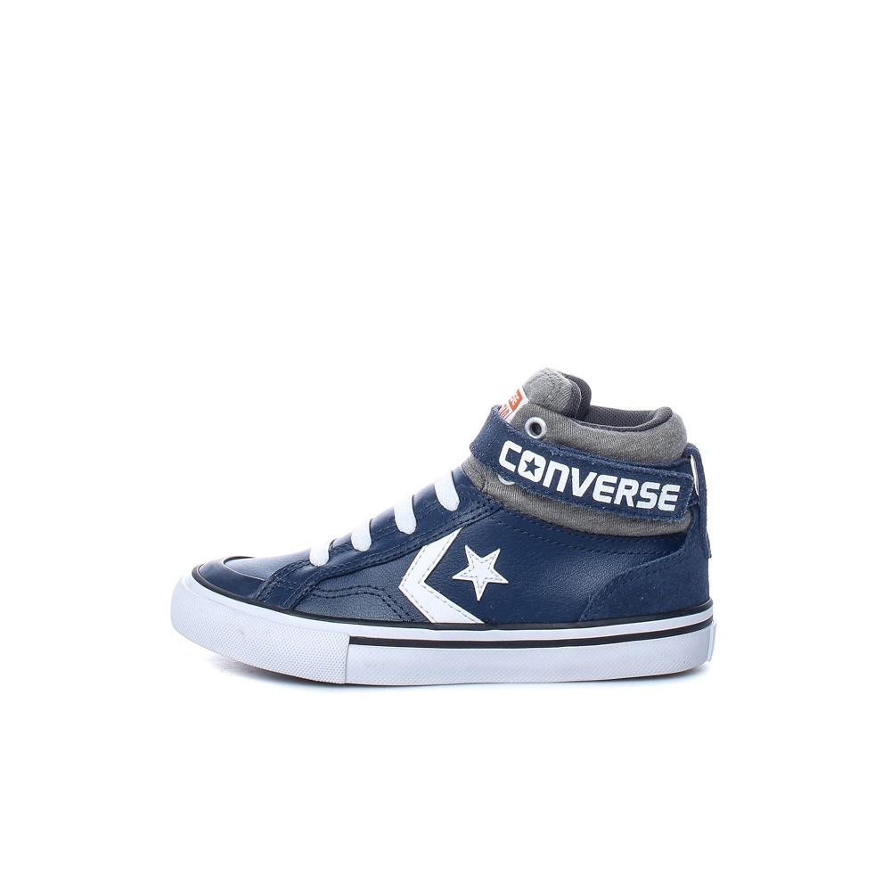 CONVERSE – Παιδικά μποτάκια Pro Blaze Strap Stretch Hi CONVERSE μπλε