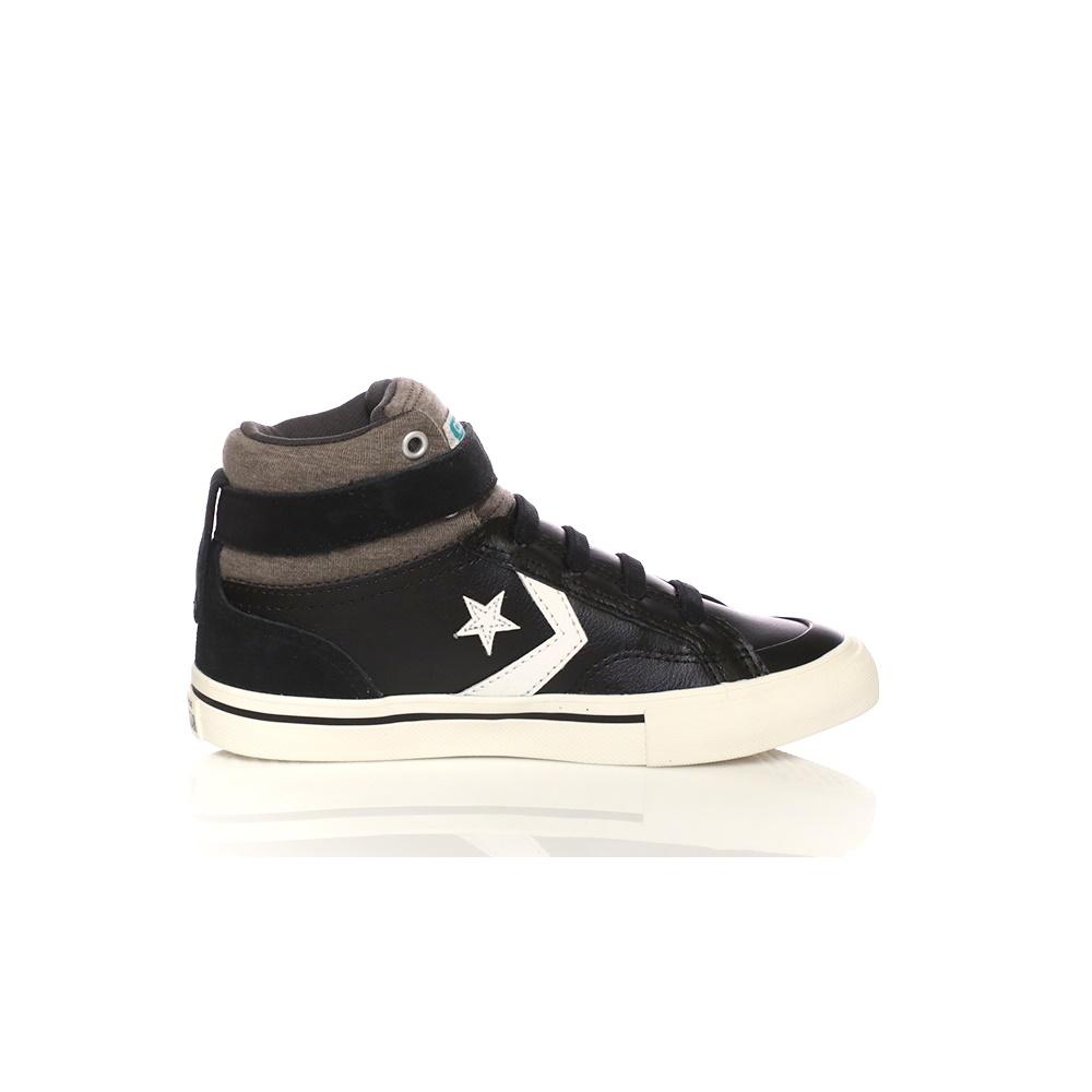 CONVERSE – Παιδικά παπούτσια CONVERSE Pro Blaze Strap Stretch Hi μαύρα