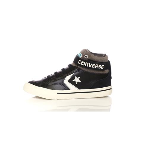 CONVERSE-Παιδικά παπούτσια CONVERSE Pro Blaze Strap Stretch Hi μαύρα