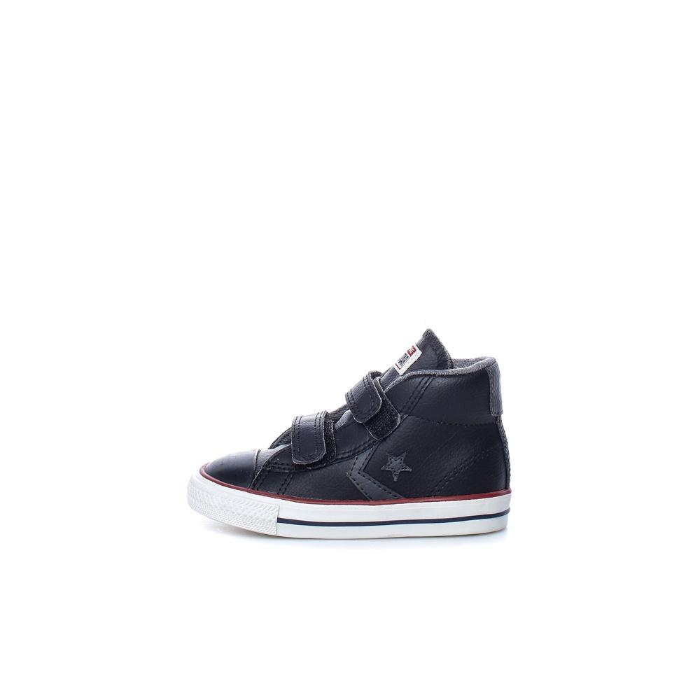 CONVERSE – Βρεφικά παπούτσια Star Player EV V Mid μαύρα
