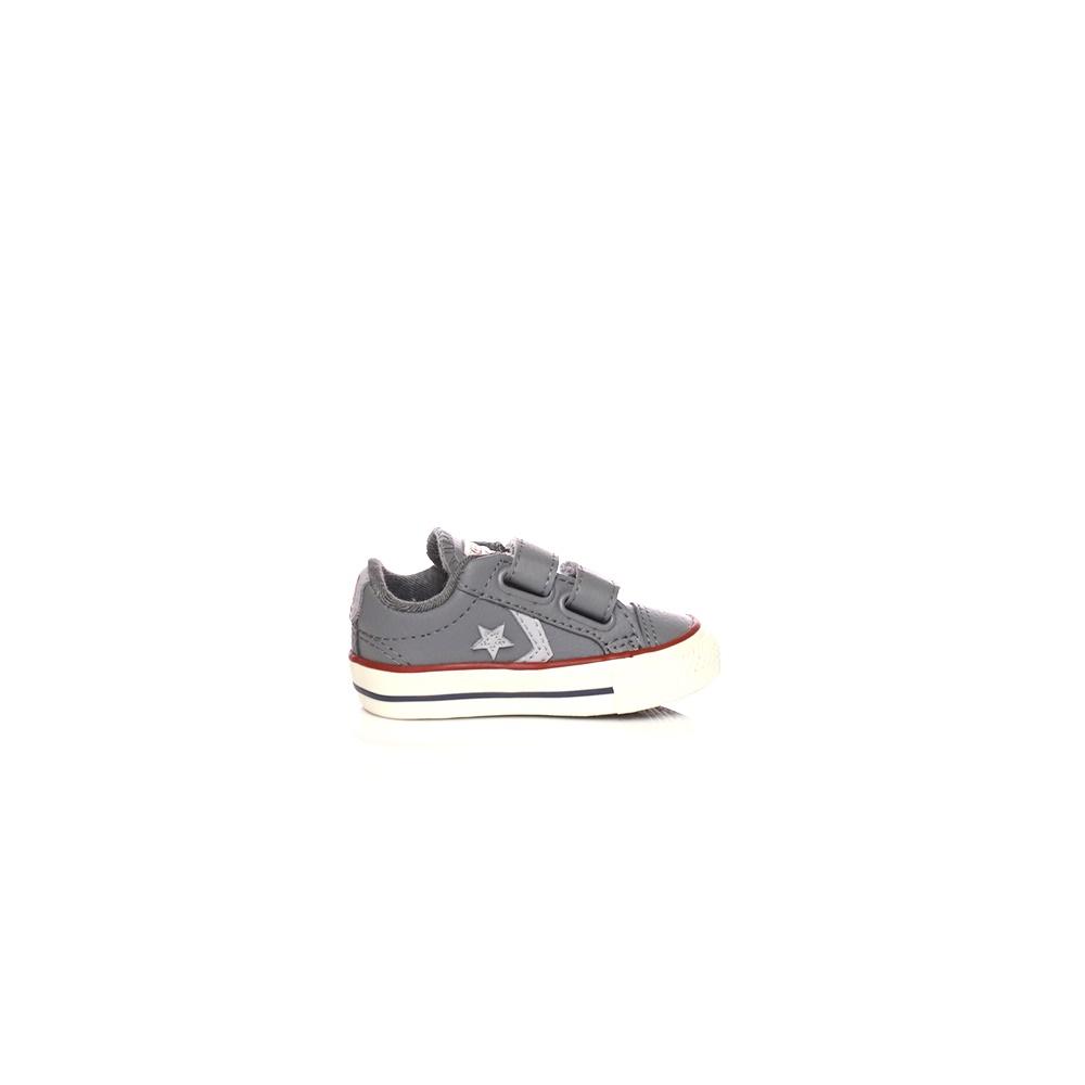 66ebf55a102 CONVERSE – Βρεφικά παπούτσια CONVERSE Star Player EV V Ox γκρι.  Factoryoutlet