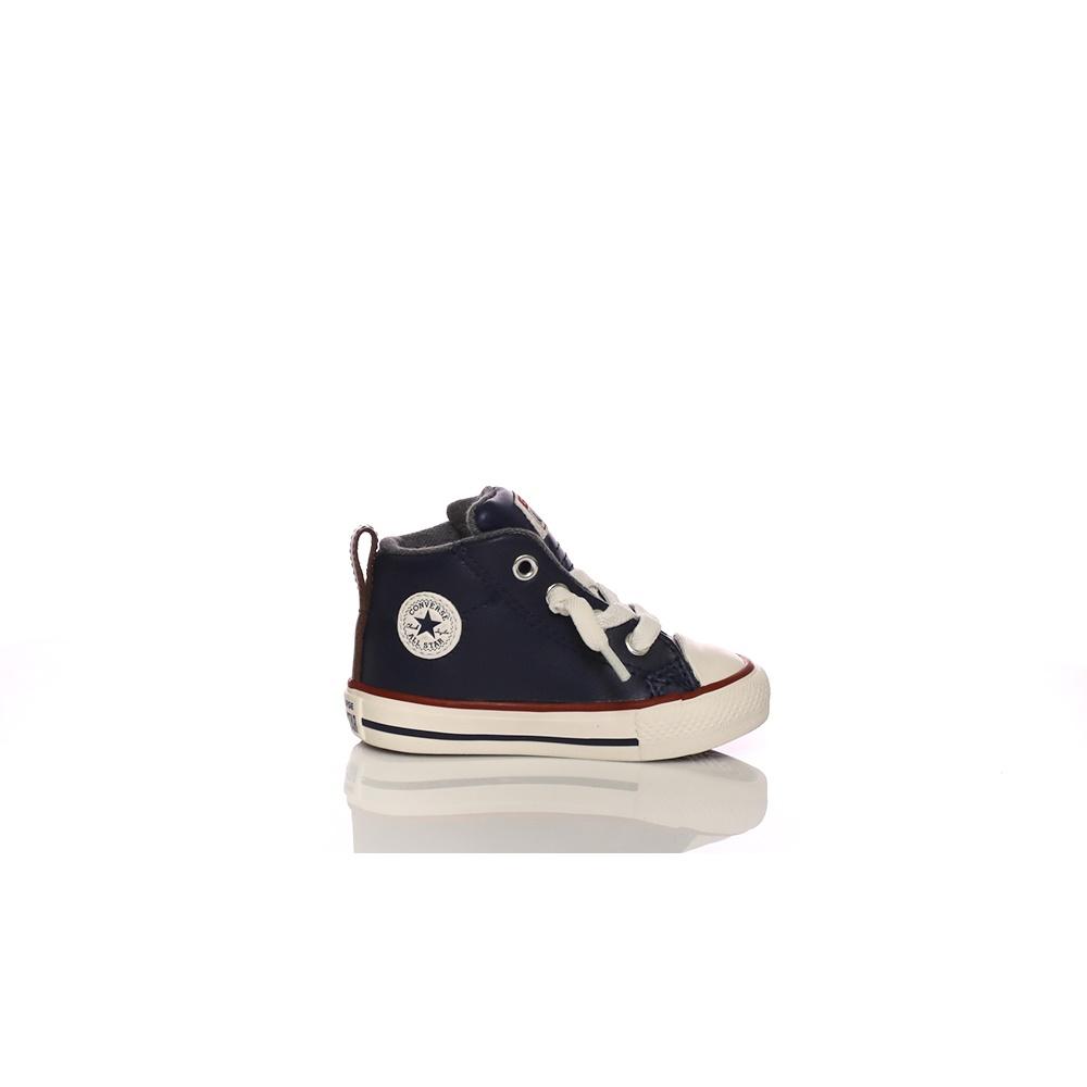 CONVERSE – Βρεφικά παπούτσια CONVERSE Chuck Taylor All Star Street μπλε