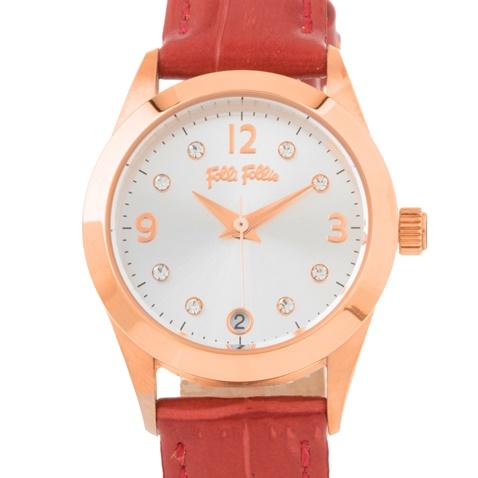 d099ffa12a Γυναικείο ρολόι Folli Follie κόκκινο (1555312.0-0041)