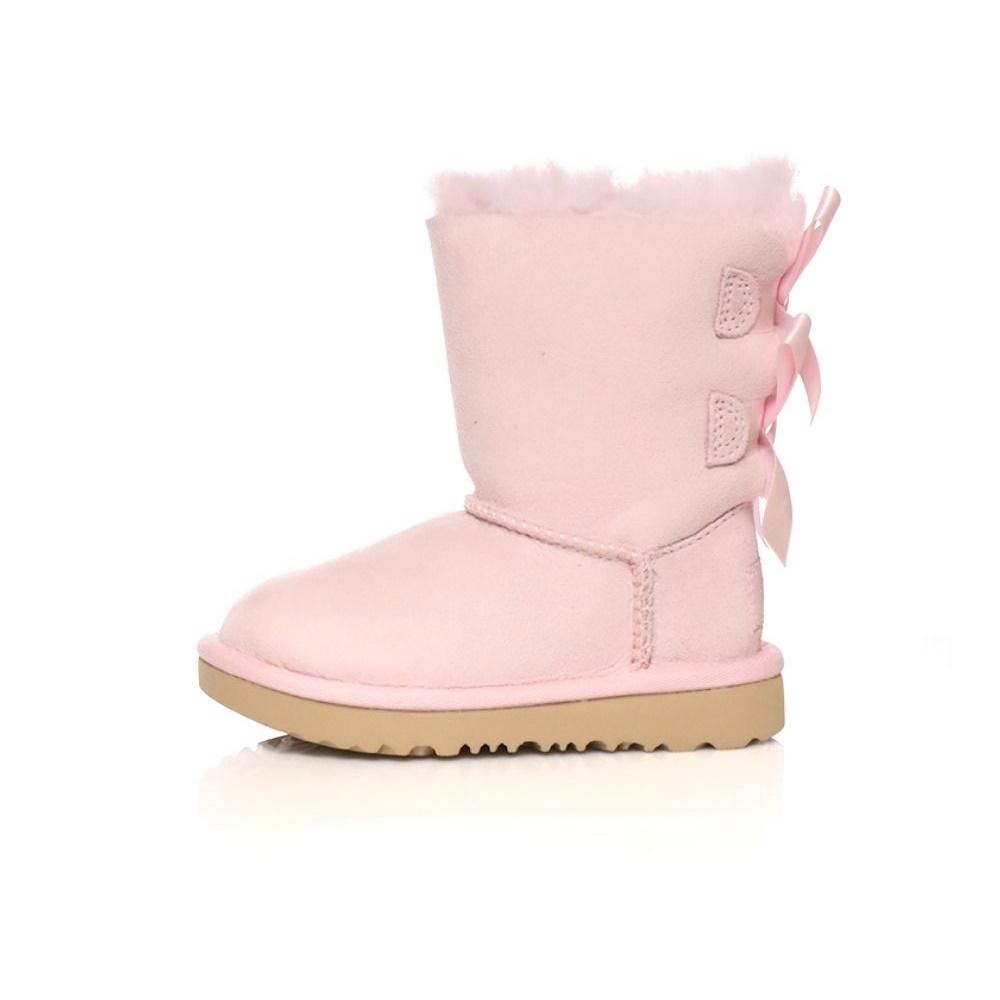 UGG – Παιδικά μποτάκια BAILEY BOW II ροζ