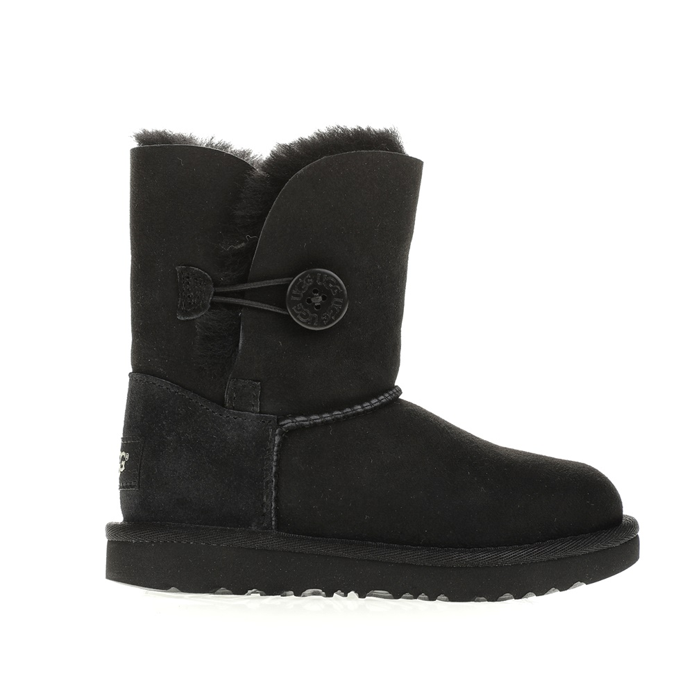 UGG – Κοριτσίστικα μποτάκια UGG BAILEY BUTTON II μαύρα