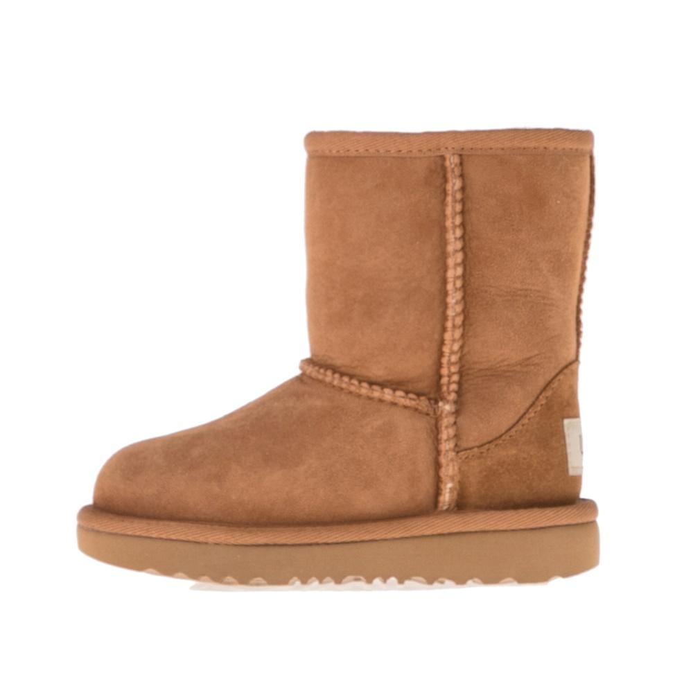 UGG – Παιδικές μπότες UGG T CLASSIC II καφέ