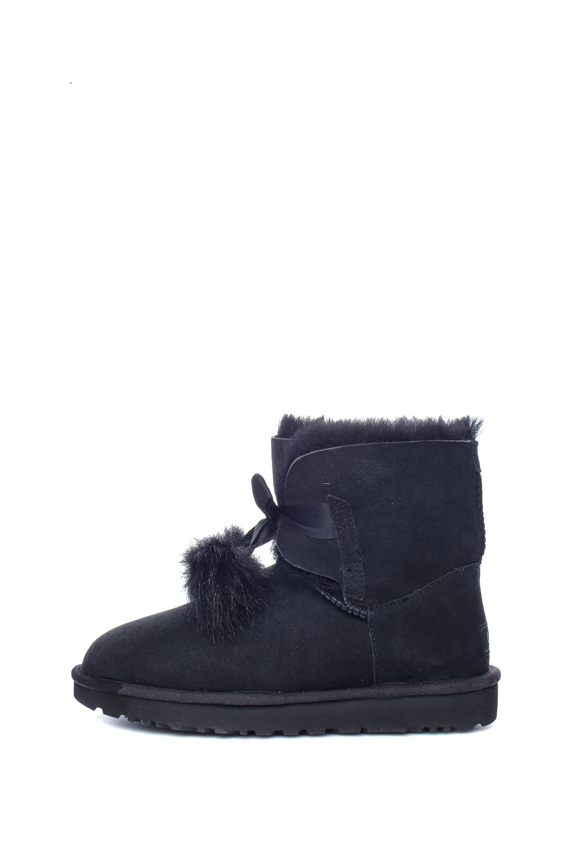 UGG - Γυναικεία μποτάκια W GITA UGG μπλε-μαύρα ⋆ EliteShoes.gr 2dedb38c3d7