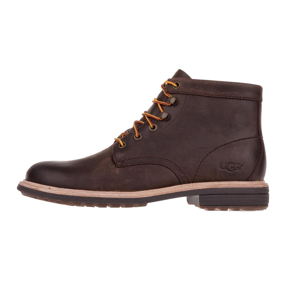 UGG - Ανδρικά δερμάτινα μποτάκια UGG VESTMAR καφέ ανδρικά παπούτσια μπότες μποτάκια μποτάκια