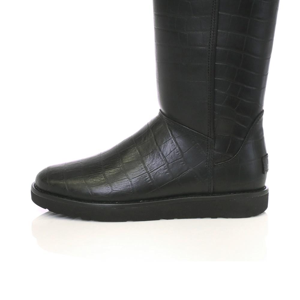 UGG – Γυναικείες μπότες ABREE II CROC μαύρες