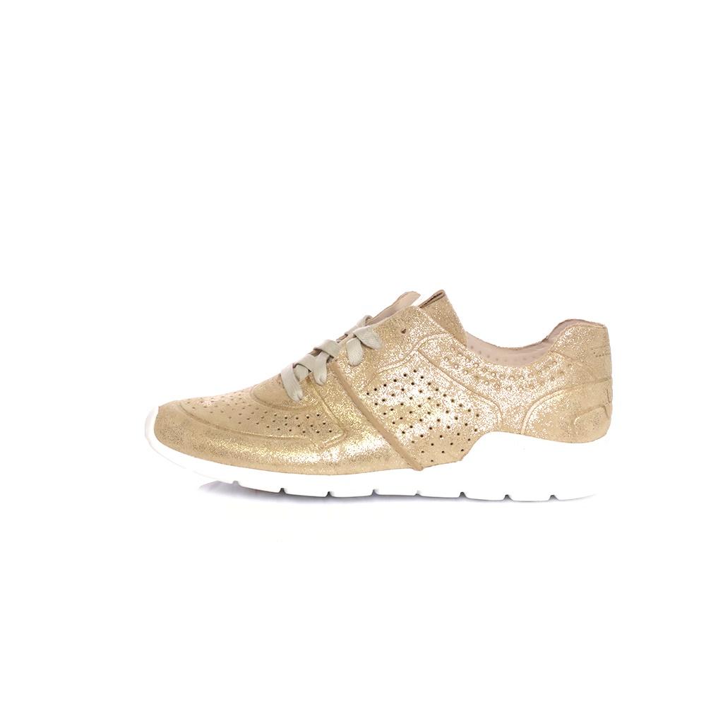 UGG – Γυναικεία sneakers UGG TYE STARDUST χρυσά