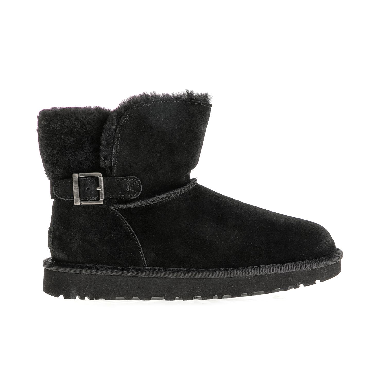 UGG - Γυναικεία μποτάκια KAREL UGG AUSTRALIA μαύρα γυναικεία παπούτσια μπότες μποτάκια μποτάκια