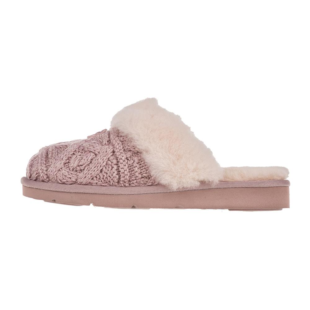 UGG - Γυναικείες παντόφλες UGG COZY CABLE ροζ γυναικεία παπούτσια παντόφλες