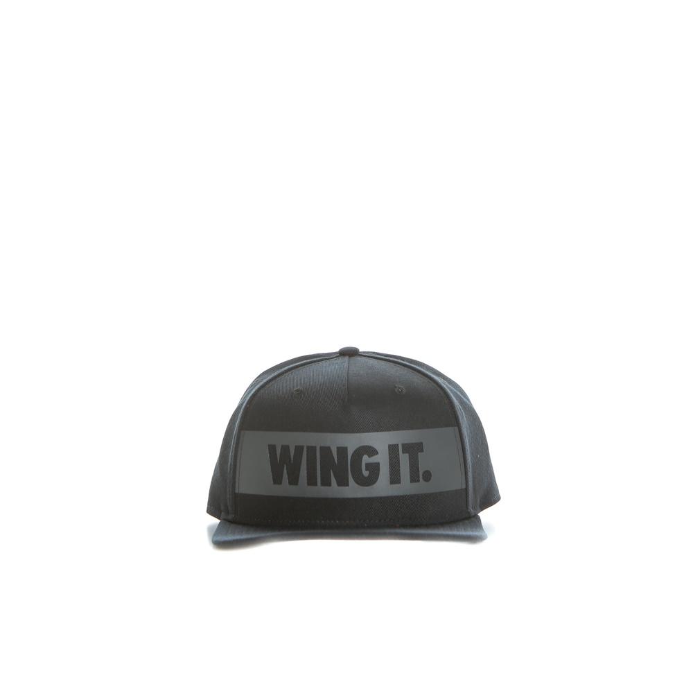 NIKE - Unisex καπέλο Nike JORDAN 2 SNAPBACK μαύρο γυναικεία αξεσουάρ καπέλα αθλητικά