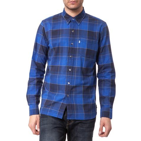447ac23b320f Ανδρικό πουκάμισο Levi s Sunset καρό μπλε (1559137.0-001z)