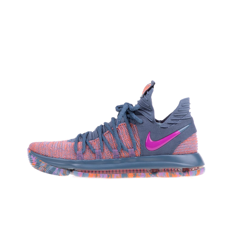 NIKE – Ανδρικά παπούτσα μπάσκετ NIKE ZOOM HOTLINE LMTD γκρι