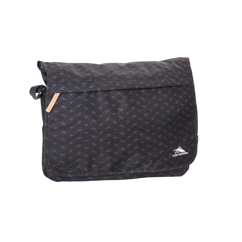 HIGH SIERRA - Τσάντα ταχυδρόμου HIGH SIERRA NAPELS2 γκρι γυναικεία αξεσουάρ τσάντες σακίδια χιαστή   cross body