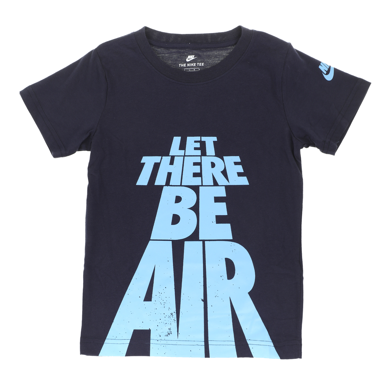NIKE KIDS - Αγορίστικη κοντομάνικη μπλούζα NIKE KIDS AIR TEE μπλε παιδικά boys ρούχα μπλούζες κοντομάνικες αμάνικες