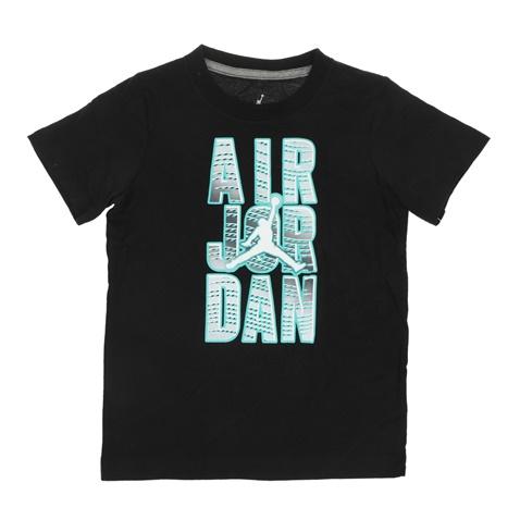 Αγορίστικη κοντομάνικη μπλούζα NIKE KIDS JORDAN REVEAL μαύρη  (1562016.0-0071)  25843671285