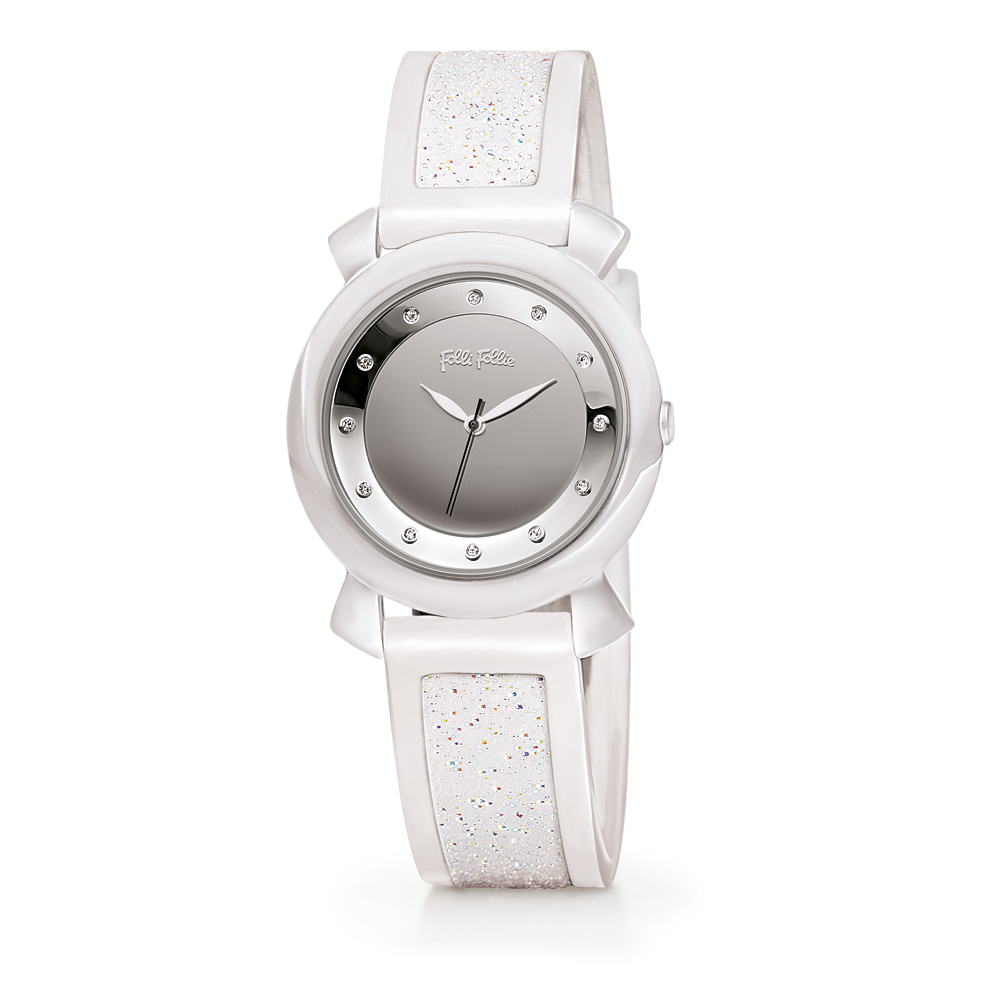 bbfcaaf71c FOLLI FOLLIE – Γυναικείο ρολόι Folli Follie λευκό. Factory Outlet