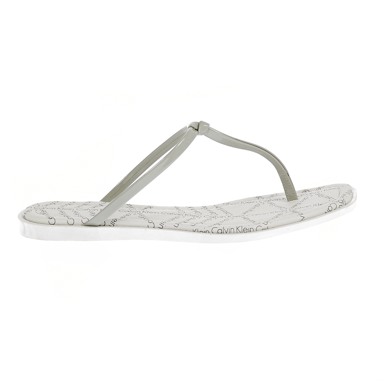 CALVIN KLEIN JEANS – Γυναικεία σανδάλια Calvin Klein Jeans γκρι