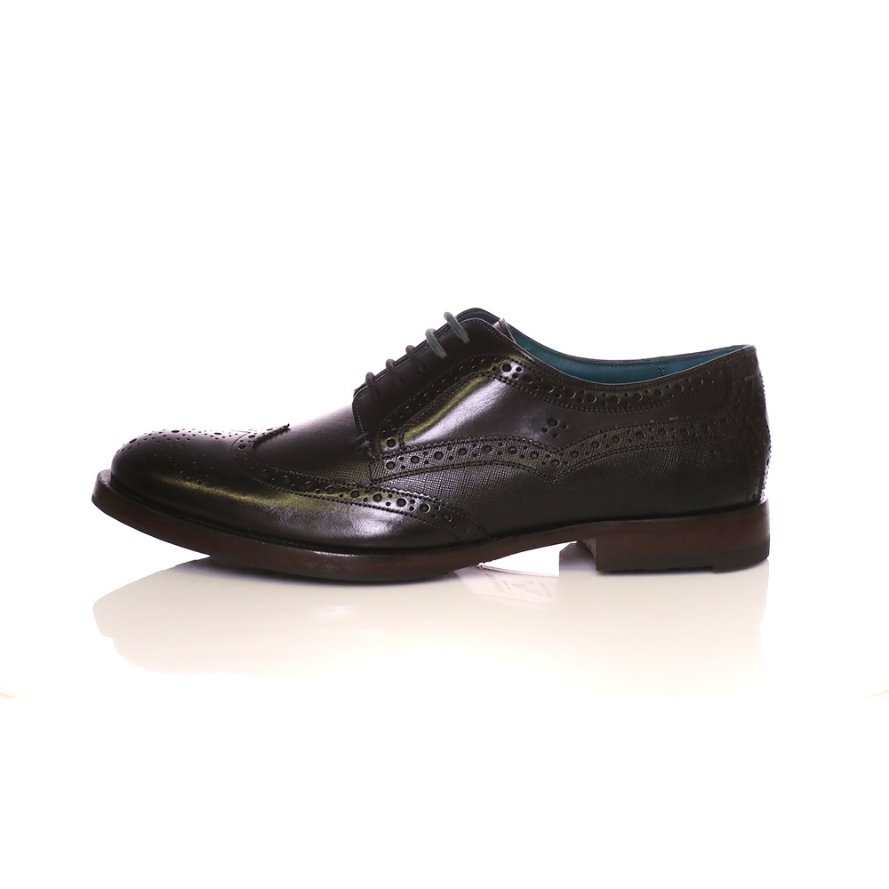 TED BAKER – Ανδρικά δετά παπούτσια Oxford Senape Ted Baker μαύρα