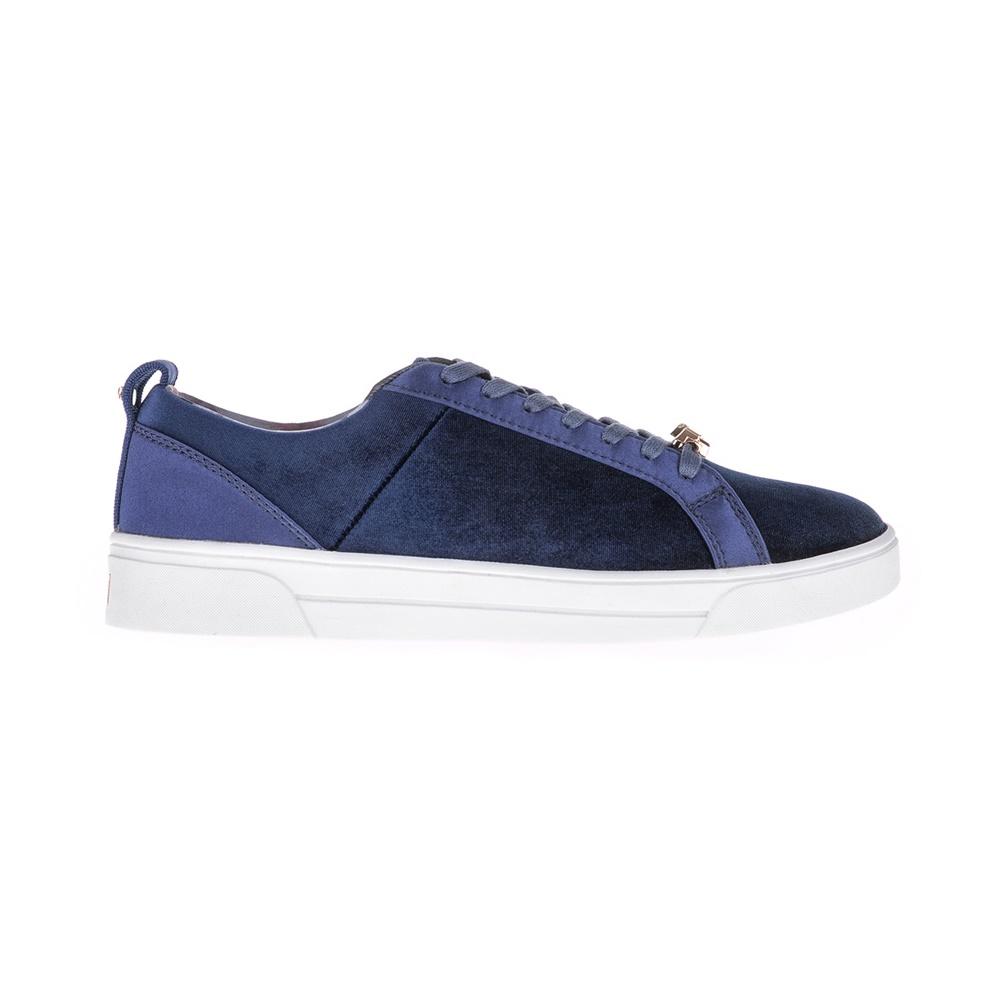 f24df46e6d8 TED BAKER - Γυναικεία βελούδινα sneakers KULEI Ted Baker μπλε ...