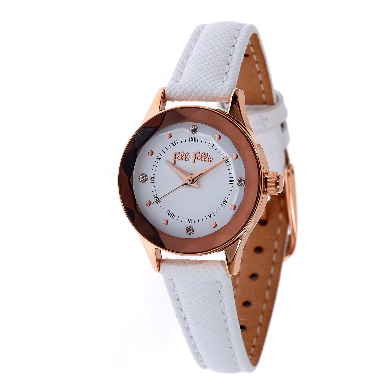 771005471d FOLLI FOLLIE - Γυναικείο ρολόι Folli Follie λευκό
