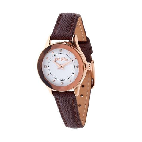 b500241c4c Γυναικείο ρολόι Folli Follie καφέ (1563945.0-00k1)
