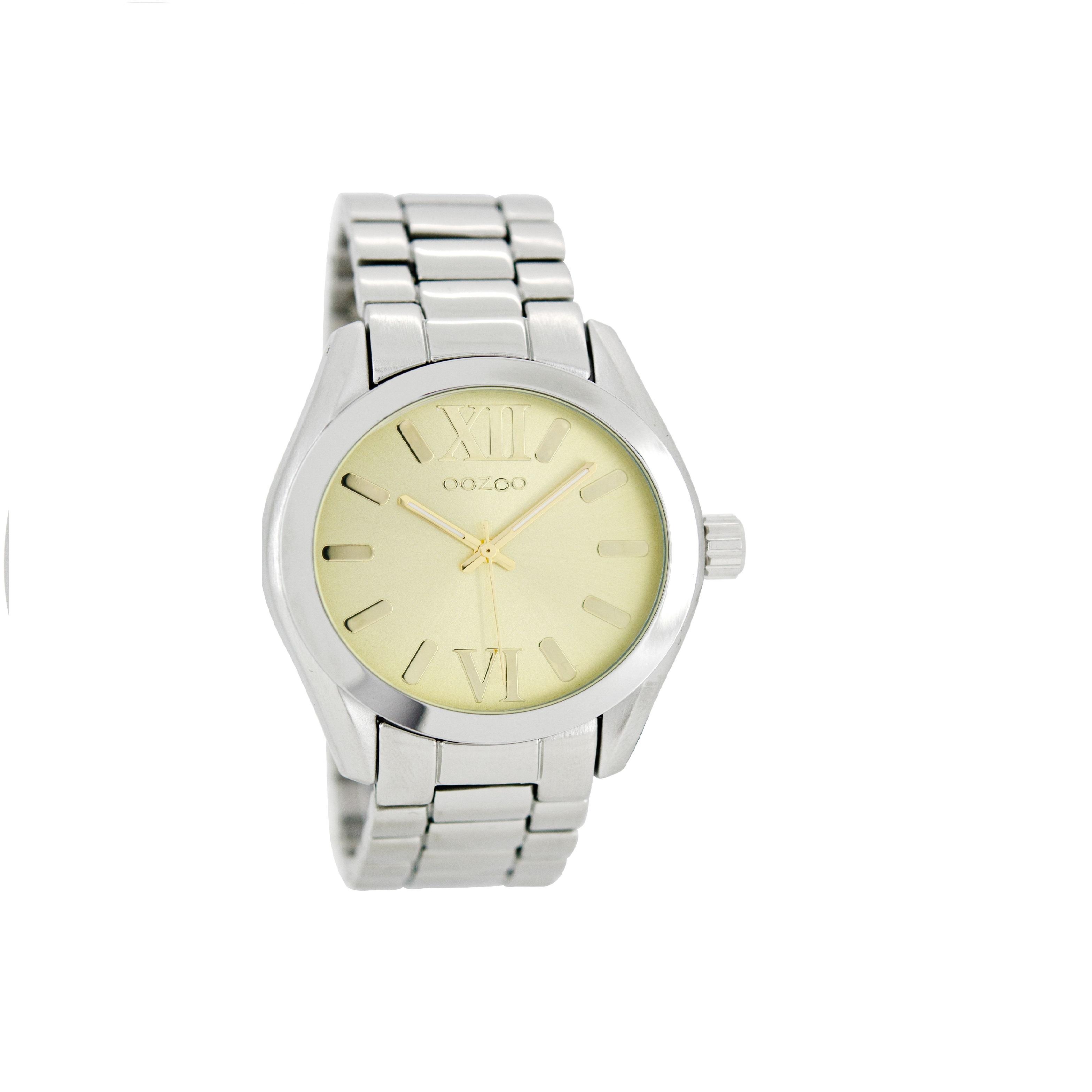 OOZOO - Γυναικείο ρολόι OOZOO TIMEPIECES ασημί απόχρωση 4ddc5613bd8