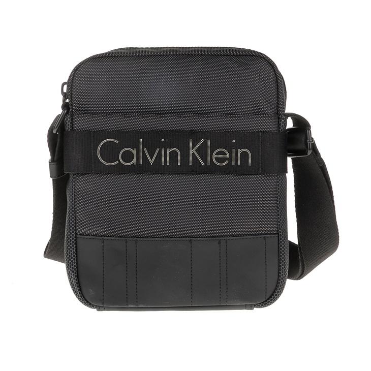 Ανδρική τσάντα ώμου - χιαστί Calvin Klein MADOX REPORTER μαύρη ... adebc3a444e