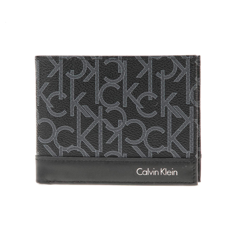 CALVIN KLEIN JEANS - Ανδρικό πορτοφόλι Calvin Klein Jeans GREG MONO BILLFOLD μαύρο