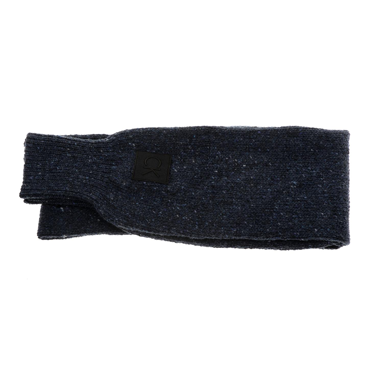 CALVIN KLEIN JEANS - Γυναικείο κασκόλ Calvin Klein Jeans ELINE JUMPER μπλε γυναικεία αξεσουάρ φουλάρια κασκόλ γάντια