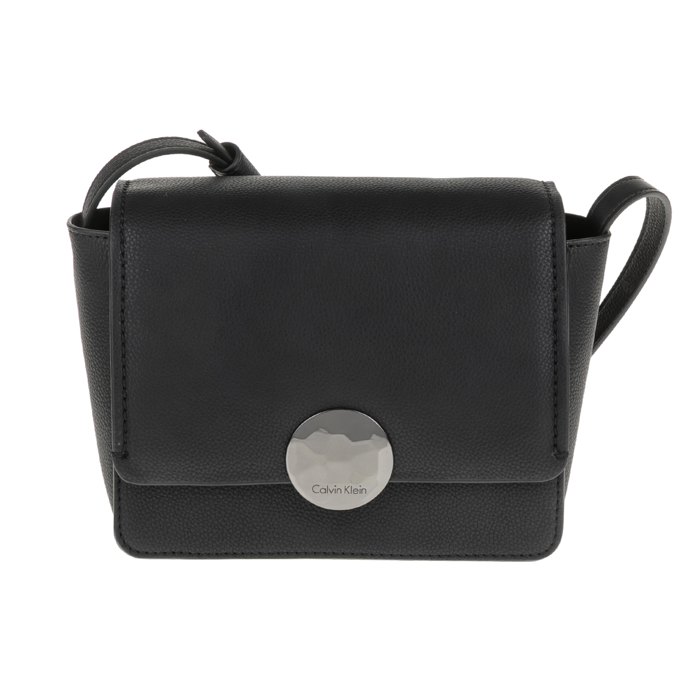CALVIN KLEIN JEANS - Γυναικεία τσάντα ώμου -χιαστί OLIVIA FLAP CROSSBODY  μαύρη 3bf1b37ebab