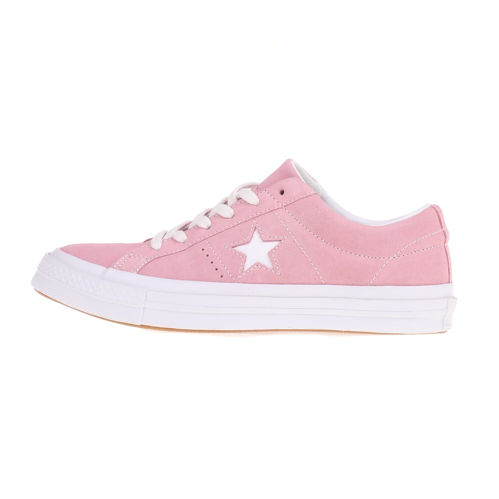 CONVERSE – Unisex sneakers ONE STAR OX ροζ
