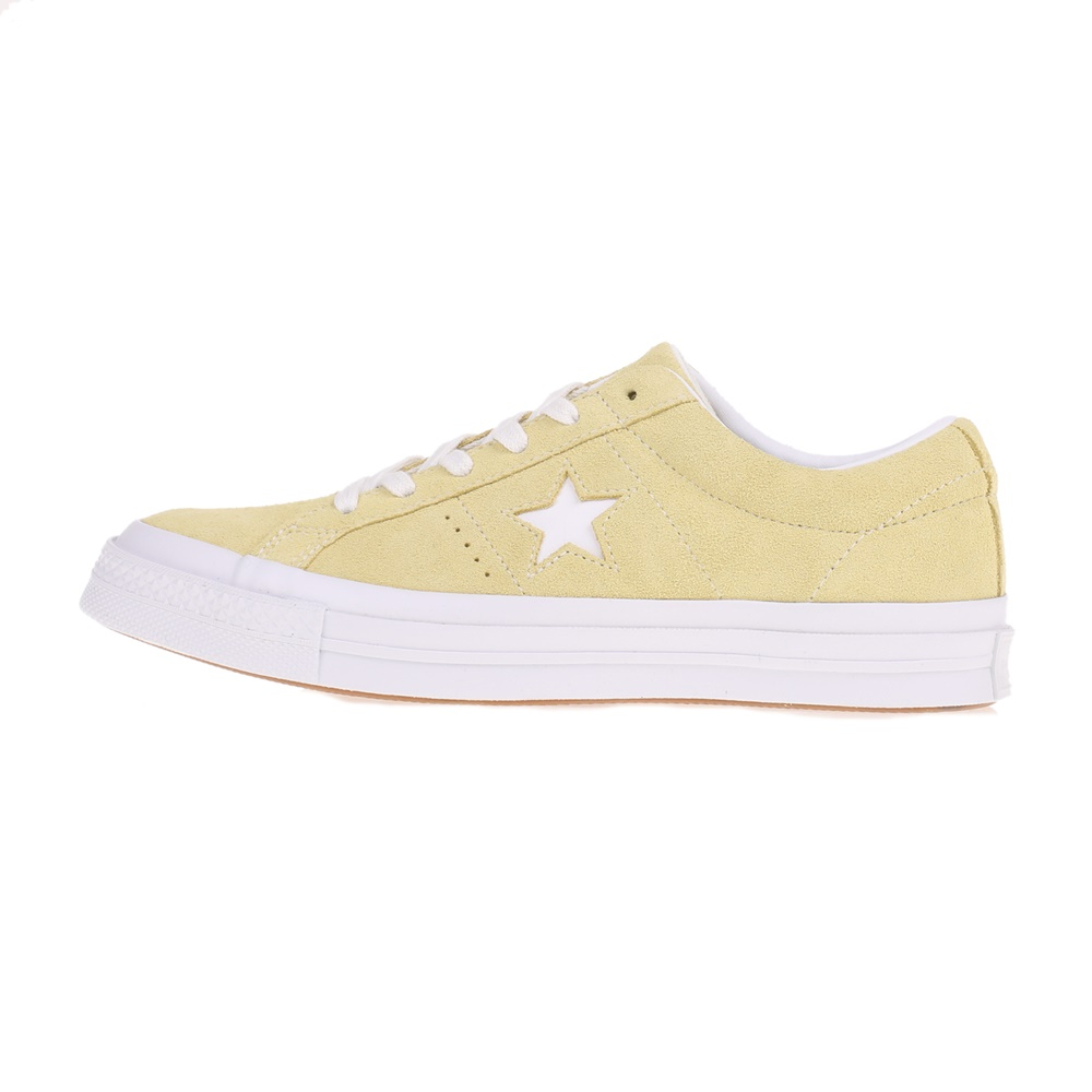 CONVERSE – Unisex sneakers ONE STAR OX κίτρινο