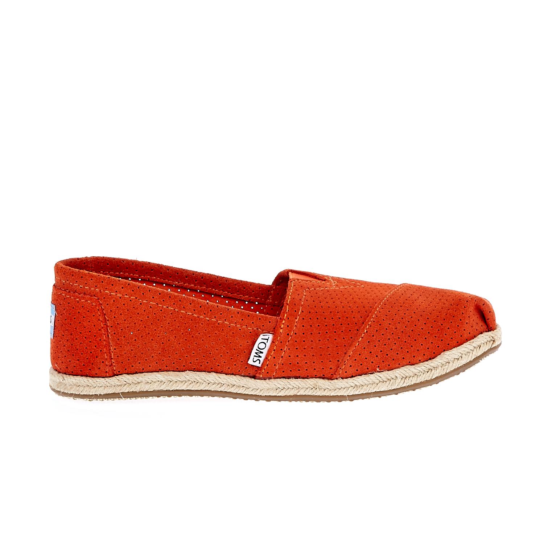 TOMS – Γυναικείες εσπαντρίγιες Perforated πορτοκαλί
