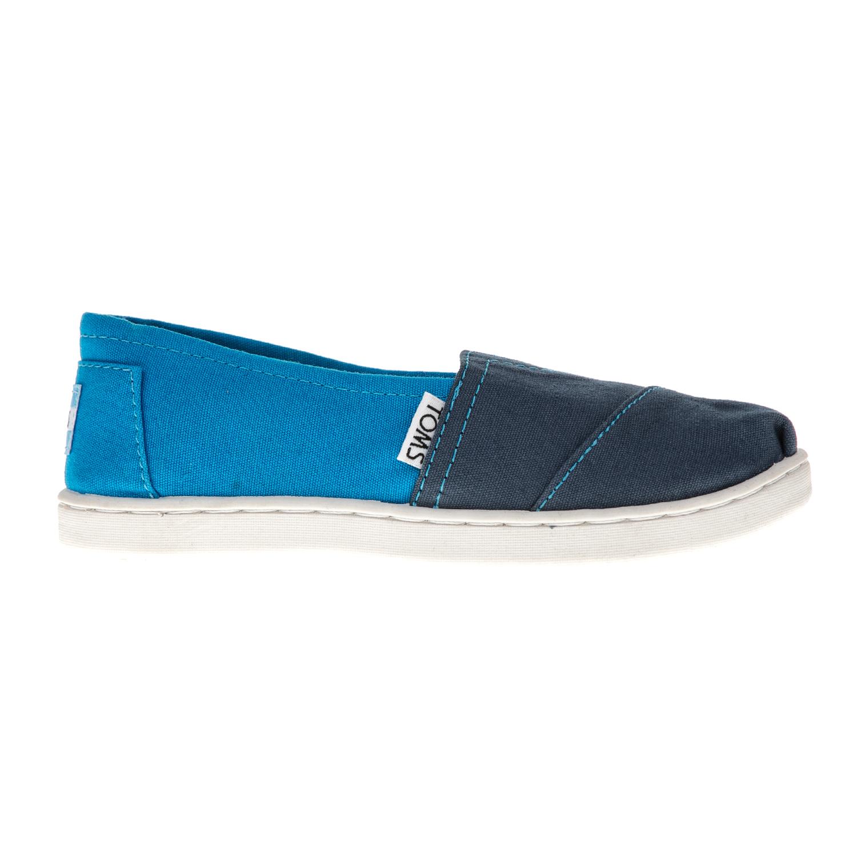 TOMS - Παιδικές εσπαντρίγιες TOMS μπλε παιδικά boys παπούτσια εσπαντρίγιες slip on