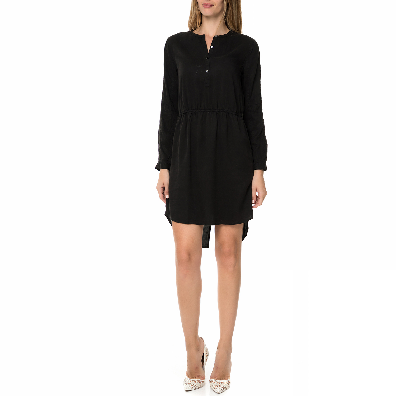 CALVIN KLEIN JEANS - Γυναικείο μακρυμάνικο κοντό φόρεμα CALVIN KLEIN JEANS DANIT γυναικεία ρούχα φορέματα μίνι