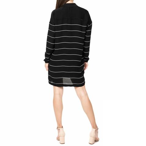 Γυναικείο μίνι φόρεμα Calvin Klein Jeans μαύρο με ρίγες (1565521.0 ... 89f9e3de572
