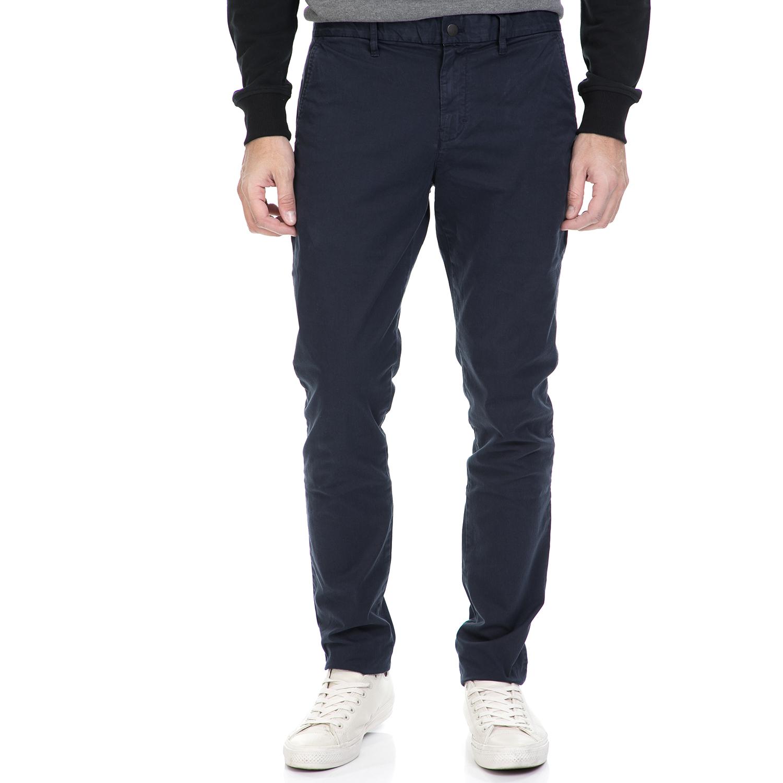 CALVIN KLEIN JEANS - Ανδρικό παντελόνι HAYDEN μπλε ανδρικά ρούχα παντελόνια chinos