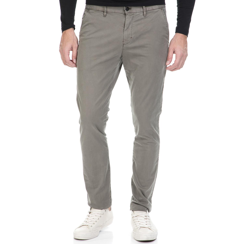 CALVIN KLEIN JEANS - Ανδρικό παντελόνι HAYDEN γκρι ανδρικά ρούχα παντελόνια chinos